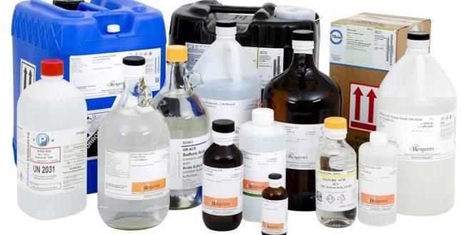کاربرد مواد شیمیایی آزمایشگاهی